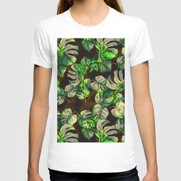 Palm Pattern T-shirt