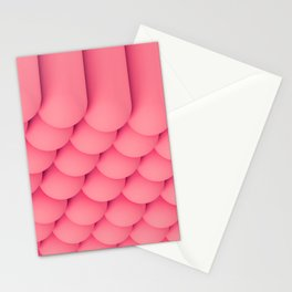 Pink Tubes Stationery Cards