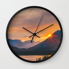 Jasper, Alberta Wall Clock