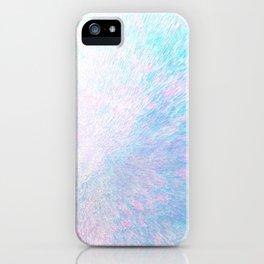 Snow Motion iPhone Case