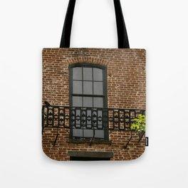 Savannah Warehouse Window Tote Bag