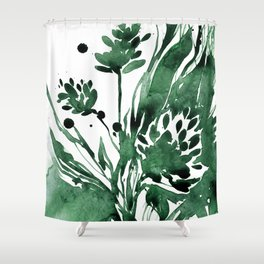 Organic Impressions No. 103 by Kathy Morton Stanion Shower Curtain