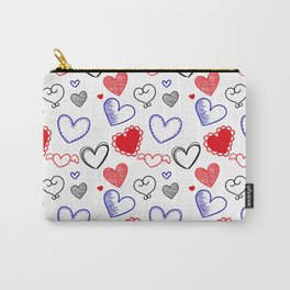 Draw hearts Carry-All Pouch