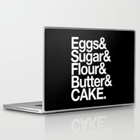 cake Laptop & iPad Skins featuring Cake by Outside In
