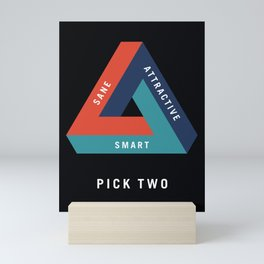 Pick Two Mini Art Print