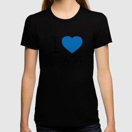 I LOVE BEACH VOLLEYBALL T-shirt