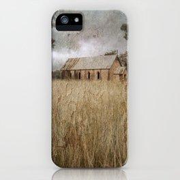 Dripstone Church iPhone Case