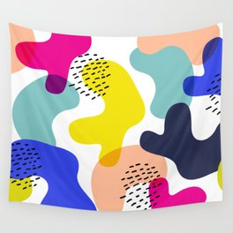 Fluorescent Adolescent Wall Tapestry