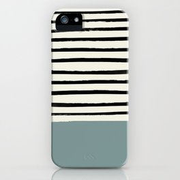 River Stone & Stripes iPhone Case