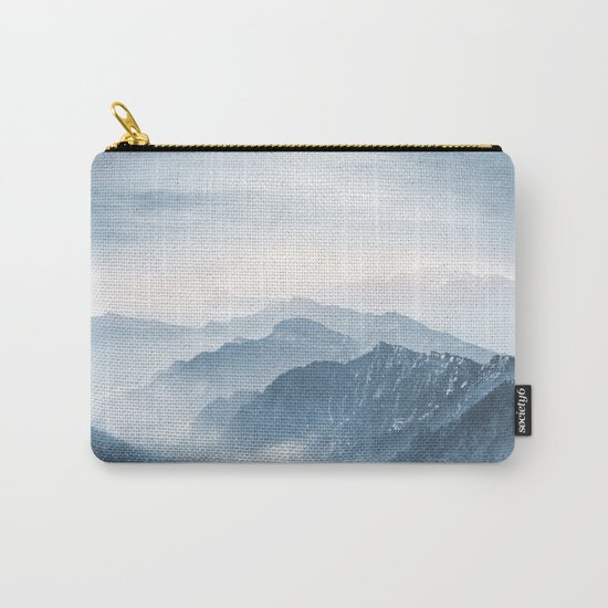 Cross Mountains Carry-All Pouch