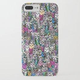 Gemstone Cats CYMK iPhone Case