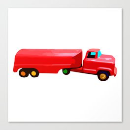 The Love Tanker Canvas Print
