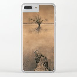 Roots And Trees. Hand Painted Photograph Clear iPhone Case