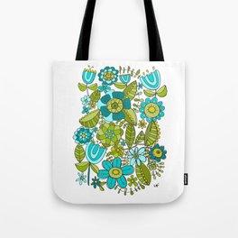 Botanical Doodles Tote Bag