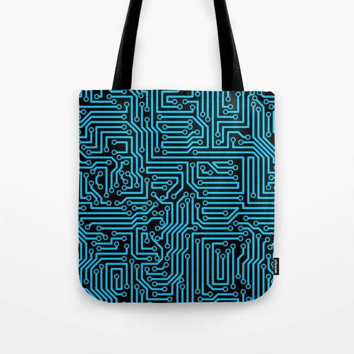 Reboot BLUE Tote Bag