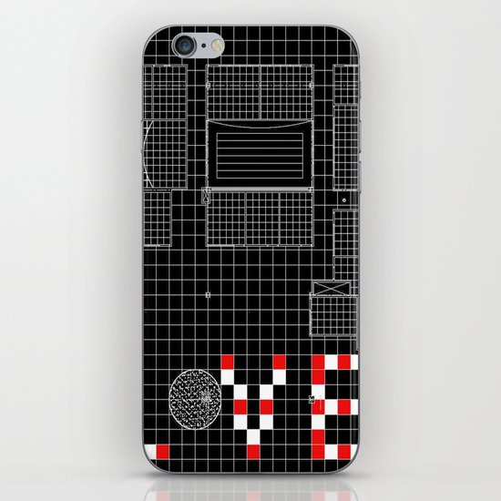 Architectural Print - Ceiling Plan - LOVE iPhone & iPod Skin