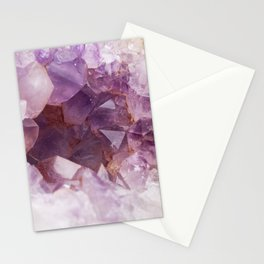 Fairy Crystal Geode Stationery Cards