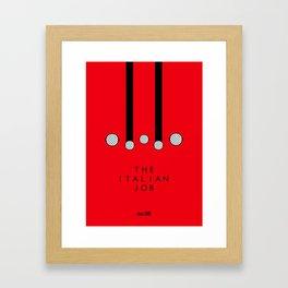 Italian Job Framed Art Print