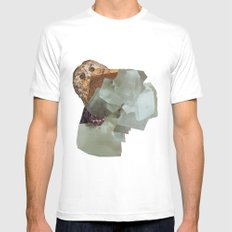 Cryptic Mens Fitted Tee White MEDIUM