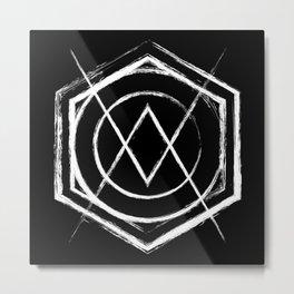 Destiny: Blacked Out Metal Print