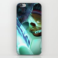 big hero 6 iPhone & iPod Skins featuring Big Hero 6- Wasabi by prpldragon