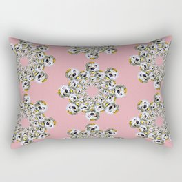 POODLE MASK Rectangular Pillow