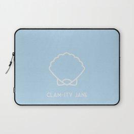 Clam-ity Jane Laptop Sleeve