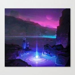 PHAZED PixelArt 8 Canvas Print