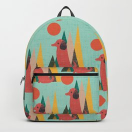 Waiting for You Dachshund Backpack