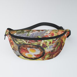 Food Collage 8 Fanny Pack