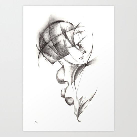 Hommage de Cloud Atlas Art Print