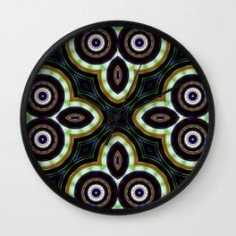 Crop Circles Of My Mind Wall Clock