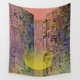 In The Transparent Places Wall Tapestry