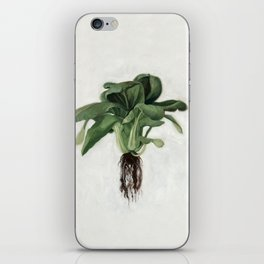 Bok Choy Oil Painting iPhone Skin