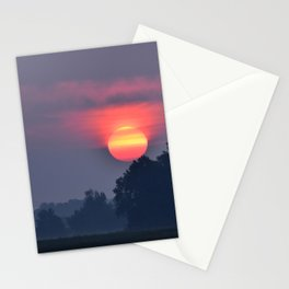Morning Fire Stationery Cards