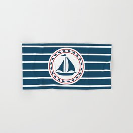 Sailing boat Hand & Bath Towel