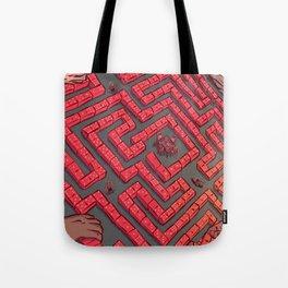 Domino Labyrinth Tote Bag