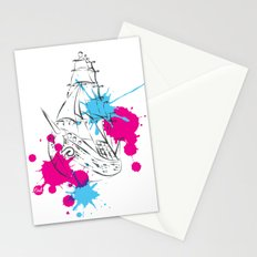 out boat Stationery Cards