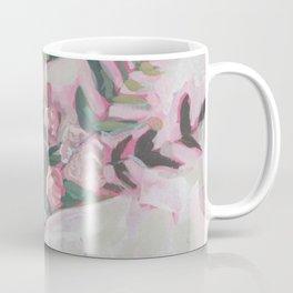 Pops of Hot Pink Florals Coffee Mug