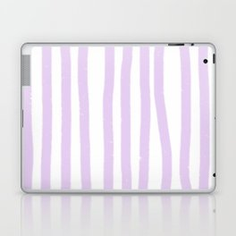 Lavender Stripes Laptop & iPad Skin
