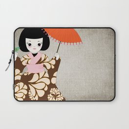 Madame Butterfly Laptop Sleeve