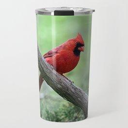 Adirondack Spring Northern Cardinal Travel Mug
