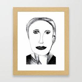 Andrea Riseborough Framed Art Print