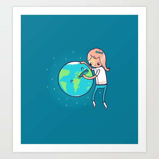 Earth Mother Art Print