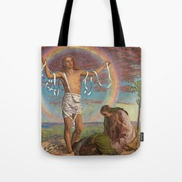 Christ and the Two Marys Tote Bag
