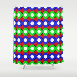 bubbles wrapped 3 Shower Curtain