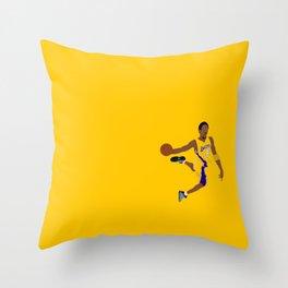 Kob Bryant Dunk Throw Pillow