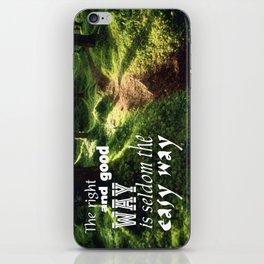 Easy Way iPhone Skin