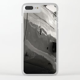 Aircraft. Clear iPhone Case
