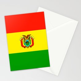 Flag of Bolivia Stationery Cards